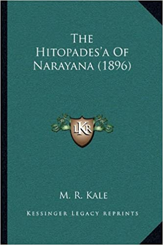 Book The Hitopades'a Of Narayana (1896)