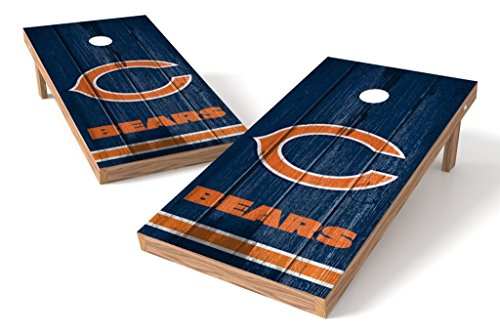 PROLINE NFL Chicago Bears 2'x4' Cornhole Board Set - Vintage Design