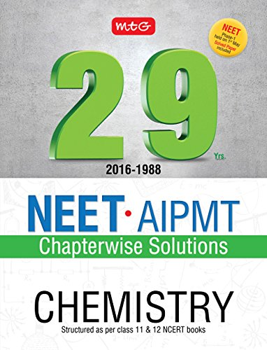 29 Years NEET-AIPMT Chapterwise Solutions - Chemistry