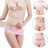 Maternity Support Belt for Prenatal or Postpartum - Breathable Pregnancy Belly Band Abdominal Binder- Adjustable Back Pelvic Support