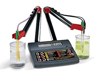 Hanna Instruments HI 255 Combination pH/mV and EC/TDS/NaCl Meter, For Laboratories