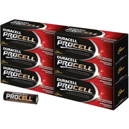 Duracell - AA Alkaline Battery -144 pack by Duracell
