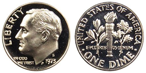 1973 S Proof Roosevelt Dime PF1