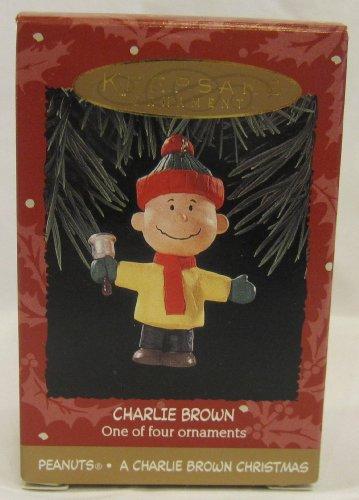 Hallmark A Charlie Brown Christmas Peanuts Keepsake Ornament (Hallmark Christmas Ornaments Brown Charlie)