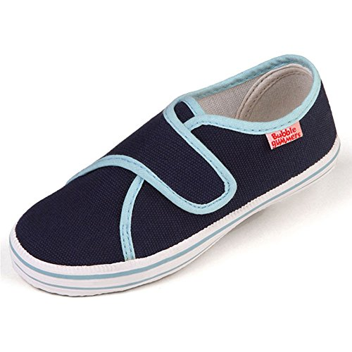 BECK leinenschuhe canvas chaussures de sport bASIC bleu 400