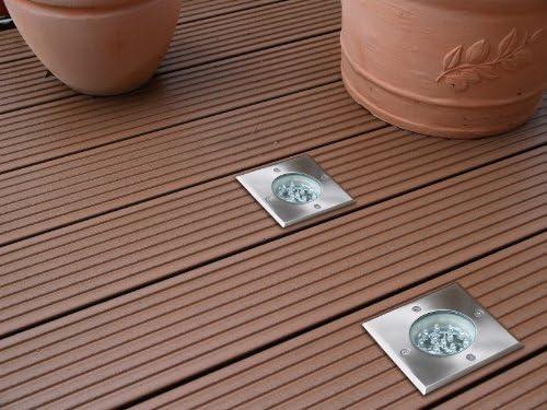 begehbar Terrassenspot Hochwertige LED Aussenleuchte Bodenstrahler wasserfest