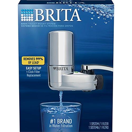 brita on tap chrome water faucet filtration system fits. Black Bedroom Furniture Sets. Home Design Ideas