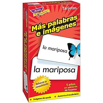 Amazon.com: Trend Enterprises T-53007BN Mas Palabras E ...
