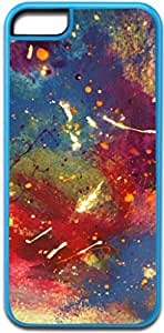 Abstract Watercolors Painting - Colorful - Blue Iphone 5C plastic case - compatible with iPhone 5C only - CHOOSE YOUR COLOR