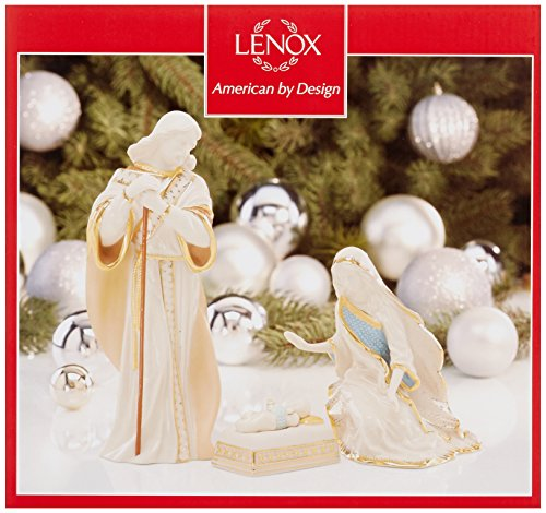 Lenox First Blessing Nativity The Holy Family, Set of 3 by Lenox (Image #2)