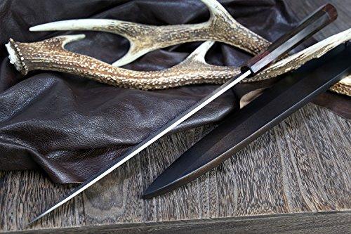 Yoshihiro Hongasumi VG Stainless Steel Yanagi Sushi Sashimi Japanese Knife with Nuri Saya Cover ( 13 IN) by Yoshihiro (Image #2)