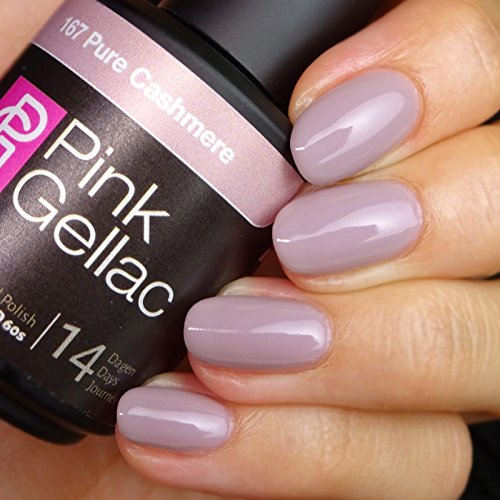 Pink Gellac #167 Pure Cashmere Soak-Off UV / LED Gel Polish