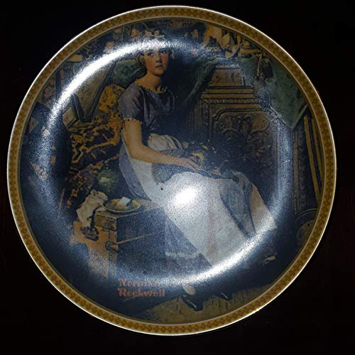 Dreaming In The Attic By Norman Rockwell First Issue Collectors Plate