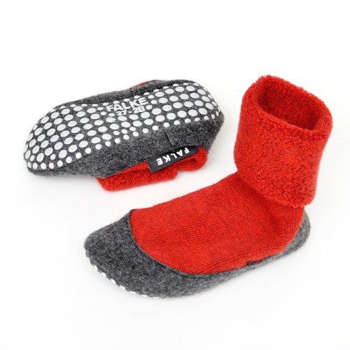FALKE cosyshoe antideslizante zapatillas (Fire rojo (fire) Talla:33-34 rojo (fire)