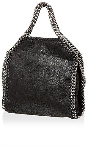 Stella McCartney Womens Falabella Star Shoulder Bag Black Handbags Amazon