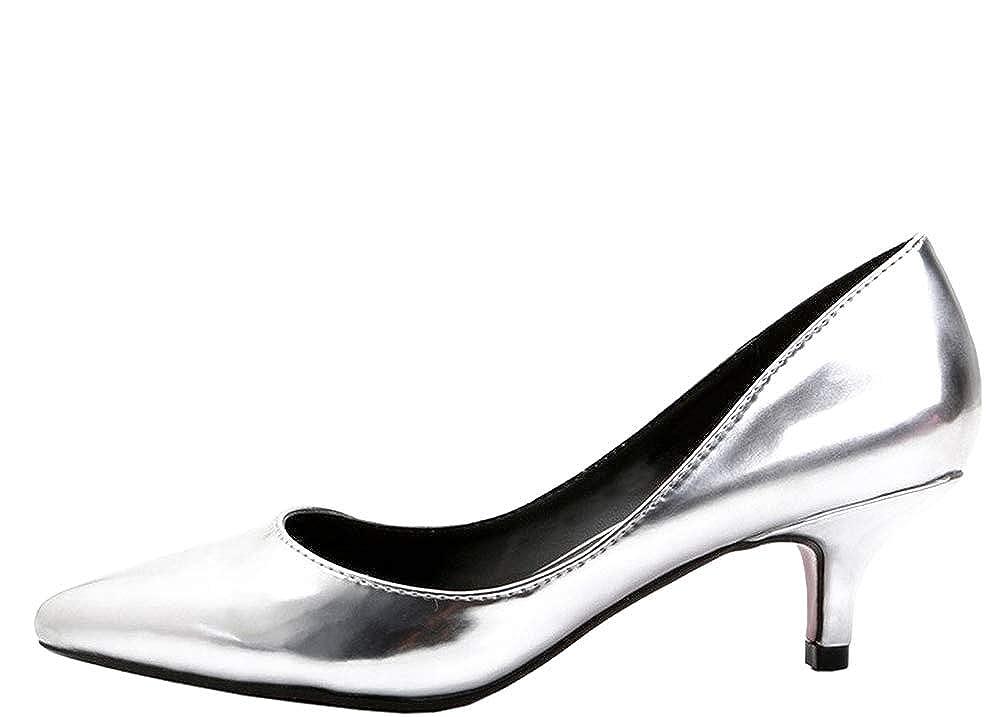 Calaier Cawindy, Damen Pumps, silber - silber silber silber - Größe  EU 40 a65f2c