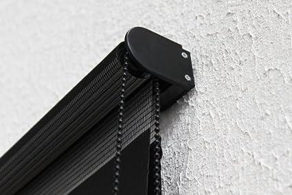 Victoria M - Estor doble enrollable (para ventanas y puertas) 140 x 175 cm, Púrpura: Amazon.es: Hogar