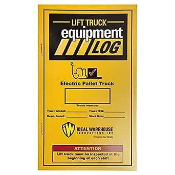 Repl. Libro de registro de camiones de palet eléctrico (4