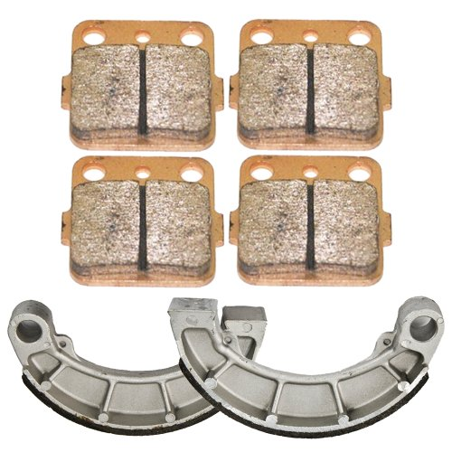 Front and Rear Brake Pads Shoes for Honda Rancher 420 TRX420 2007-2015 by Foreverun Motor (Image #1)