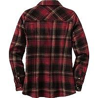 Legendary Whitetails Women's Cottage Escape Long Sleeve Button Up Flannel Shirt