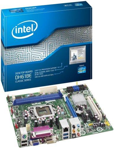 Intel Vga Cable - Boxed Intel Intel H61 Micro ATX DDR3 1333 Motherboards BOXDH61BEB3