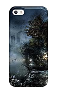 For Iphone 5/5s Premium Tpu Case Cover Video Game Alone In The Dark Protective Case