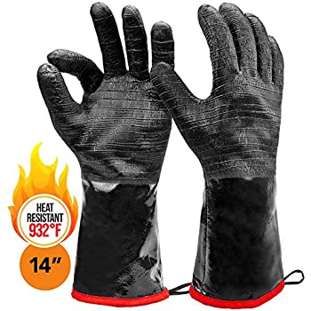 Heatsistance Heat Resistant BBQ Gloves, 14