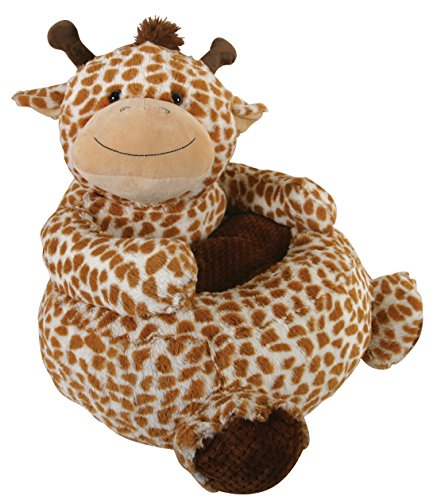 Stephan Baby Plush Nursery Decor Chair, Giraffe