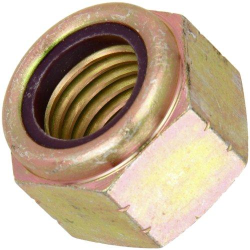 Yellow Chromate Plated Finish Threads Insert