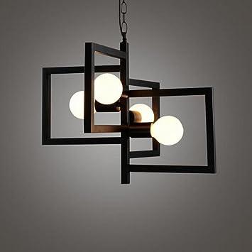 Amazon.com: OOFAY LIGHT Modern Pendant Lamp with 4 Lights, Creative ...
