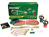 Victor 0384-2036 Journeyman Heavy Duty Cutting System, Acetylene Gas Service, ESS4-15-510 Fuel Gas Regulator