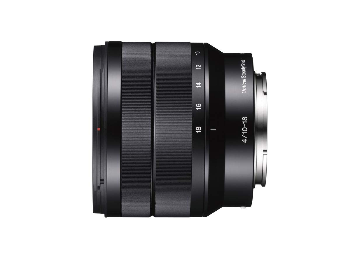 Sony SEL1018 Lente de cámara - Objetivo (Zoom Angular, SLR, 10/8 ...