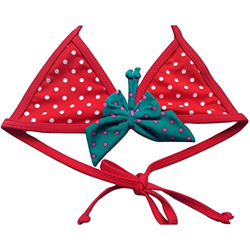 Win8Fong Little Girls 'Blue Point Conjuntos de Bikini