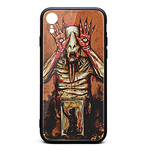 Compatible iPhone XR Case Tempered Glass Pan's-Labyrinth-2006-Film-Poster- Shock Absorbent Skid-Proof Durable TPU Protective Case for iPhone XR 6.1 Inch