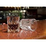 """Hotel Astor """"Men's Bar"""" Crystal Whiskey Glass (Gift Box Set of 2)"""