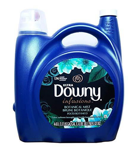 Downy Ultra Infusions Liquid Fabric Softener- He Compatible, 174 Loads, 150fl. Oz (Botanical Mist)