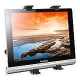 kwmobile tablet headrest mount for Lenovo Yoga Tablet 10 HD+ black - car headrest tablet support
