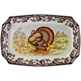 Spode Woodland Turkey Rectangular Platter