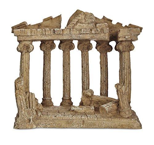 Imagitarium Resin Greek Temple Aquatic Decor, Medium, Multi-Color