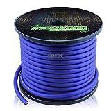 4 gauge alternator wire - Mechman BLUE 4 Gauge OFC Oxygen-Free Copper 100' Car Audio/Racing Wire/Cable