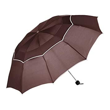 DSFOPI Doble Golf Paraguas Lluvia Mujeres a Prueba de Viento Grandes Hombres Mujeres Paraguas No Automático