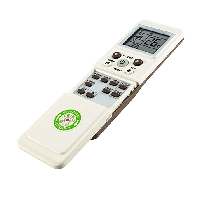 Control remoto universal para acondicionador de aire acondicionado: Amazon.es: Hogar