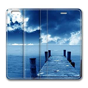 Blue Dock Smart Case Cover with Back Case for Apple iPad mini