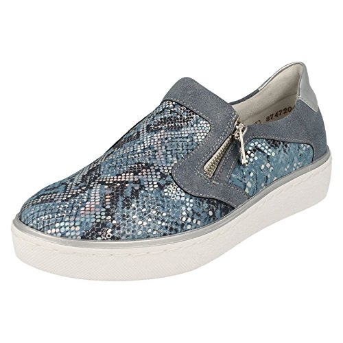 Remonte Ladies Casual Shoes R5504 Blue ZEymQ