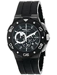 Momo Design Men's MD1004BK-02BKWT Tempest Analog Display Swiss Quartz Black Watch
