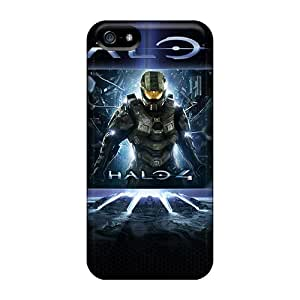 Tough Iphone EkT7131EIfd Case Cover/ Case For Iphone 5/5s(halo 4 Game)