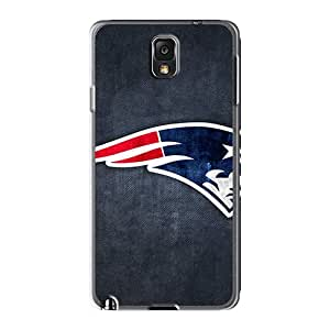 Shockproof Hard Phone Case For Samsung Galaxy Note 3 (LTg657roJR) Unique Design Realistic New England Patriots 11 Skin