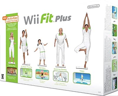 Wii Fit Plus with Balance Board by Nintendo