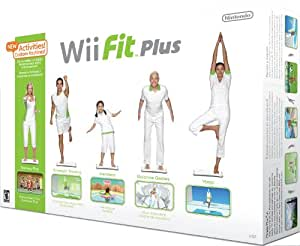 Wii Fit Plus with Balance Board - Standard Edition
