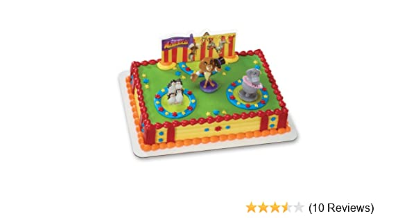 Amazon DecoPac Madagascar 3 Three Ring Circus DecoSet Cake Topper Toys Games